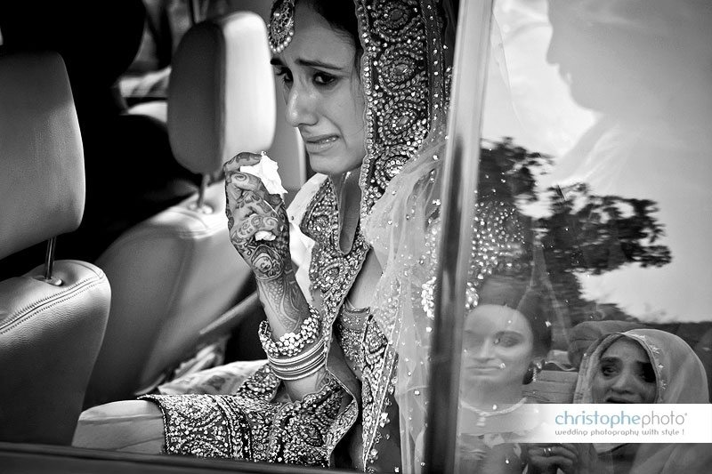 Vidaii after the sikh wedding ceremony. Located near Amritsar by Wedding Photographer Punjab India Christophe Viseux