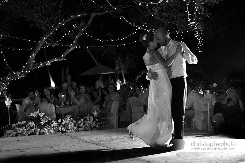 first dance on the wedding night in Kenya