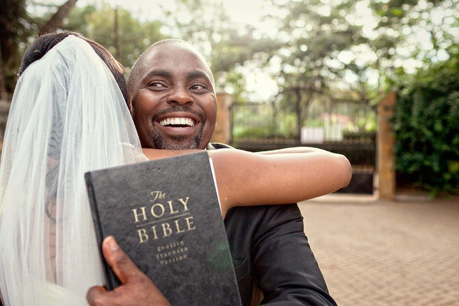 Christian Wedding in Kenya