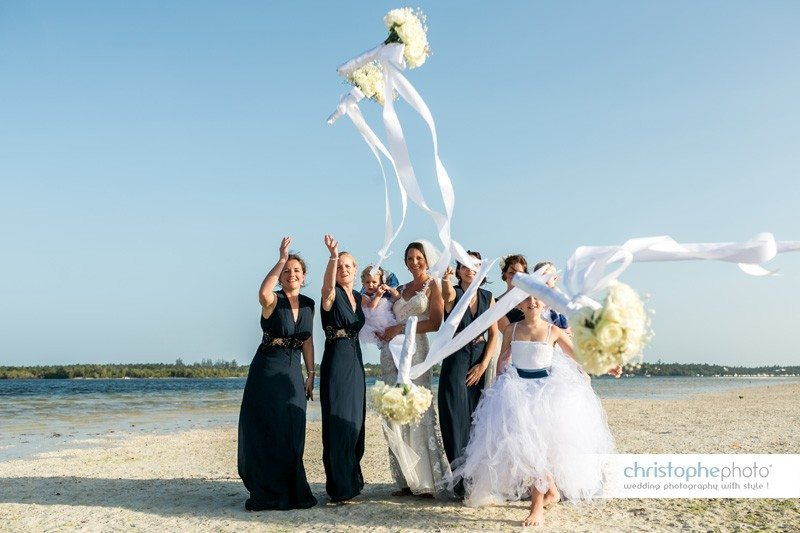 Bridesmaid having fun during the wedding photography Mombasa