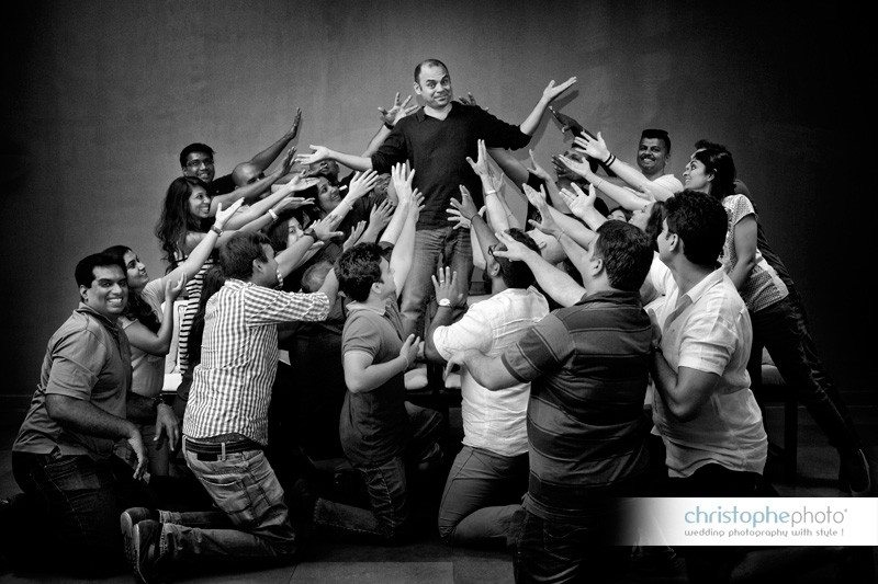 Andrew Adams doing what he does best: Wedding Photo Mumbai