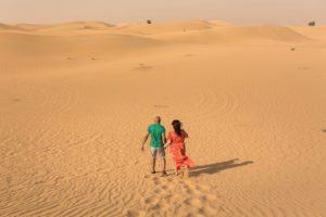Couple Shoot Bab Al Shams Dubai