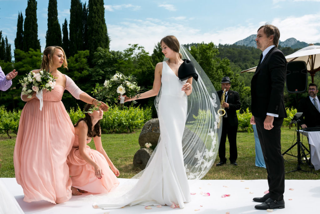 Vineyard Provence Wedding